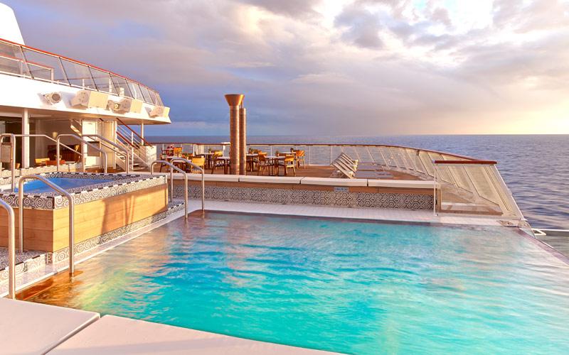 Infinity Pool aboard Viking Sun