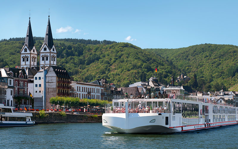 Viking River Cruises Viking Aegir exterior
