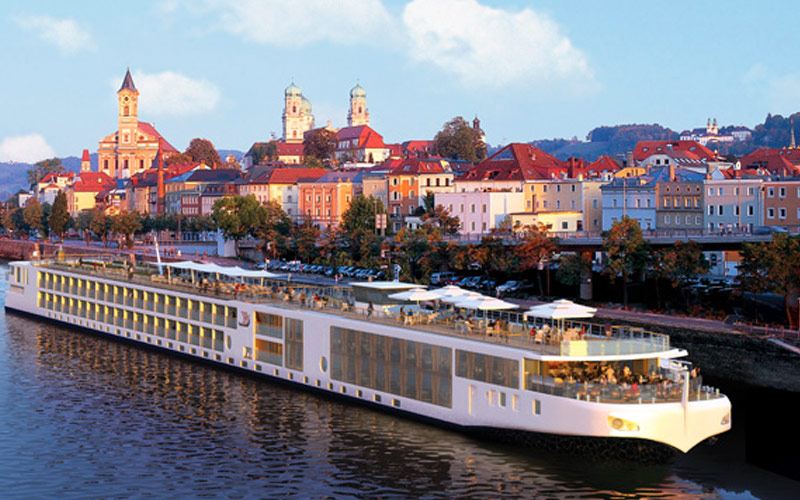 Viking River Cruises Viking Alsvin exterior