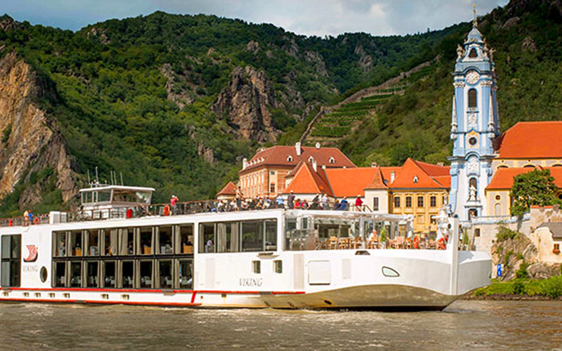 Viking River Cruises Viking Baldur exterior