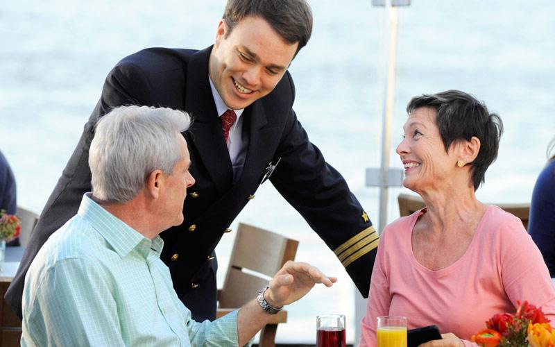 Viking River Cruises Viking Sineus aquavit staff