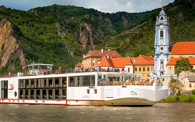 Viking River Cruises Viking Skadi exterior