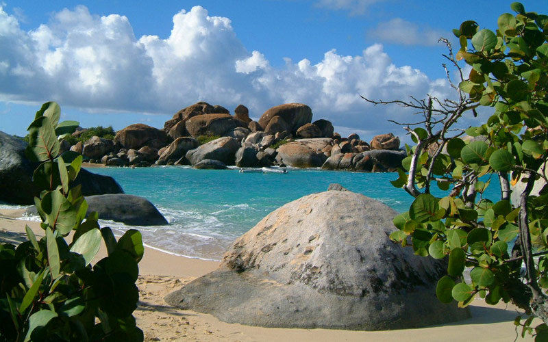 Virgin Gorda Rocks