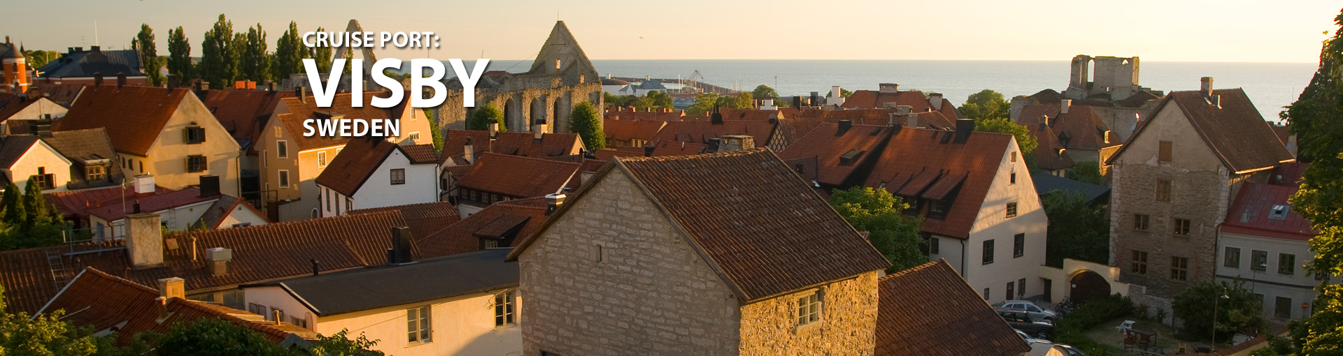 Cruises to Visby, Sweden