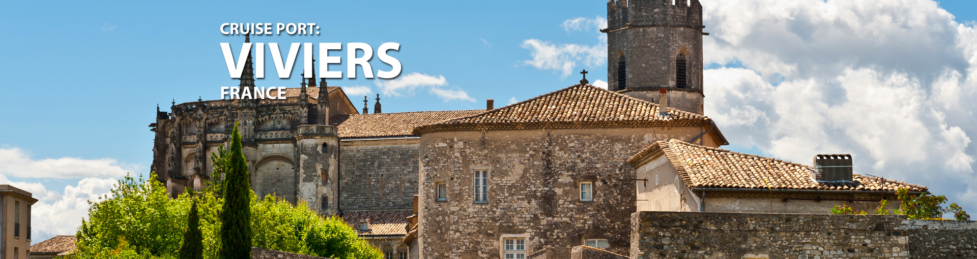 Cruises to Viviers, France