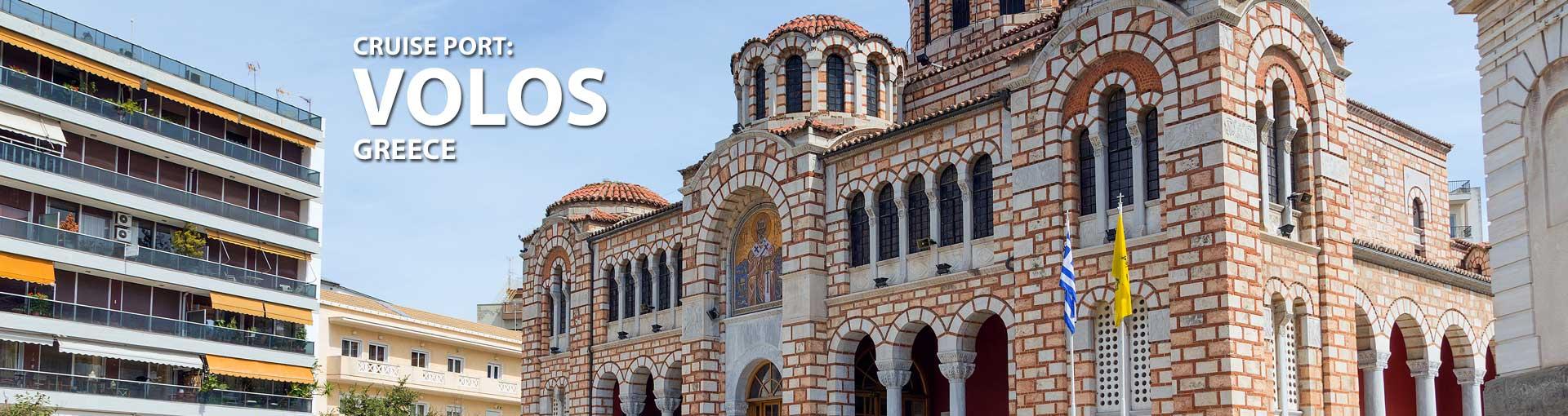 Cruises to Volos, Greece
