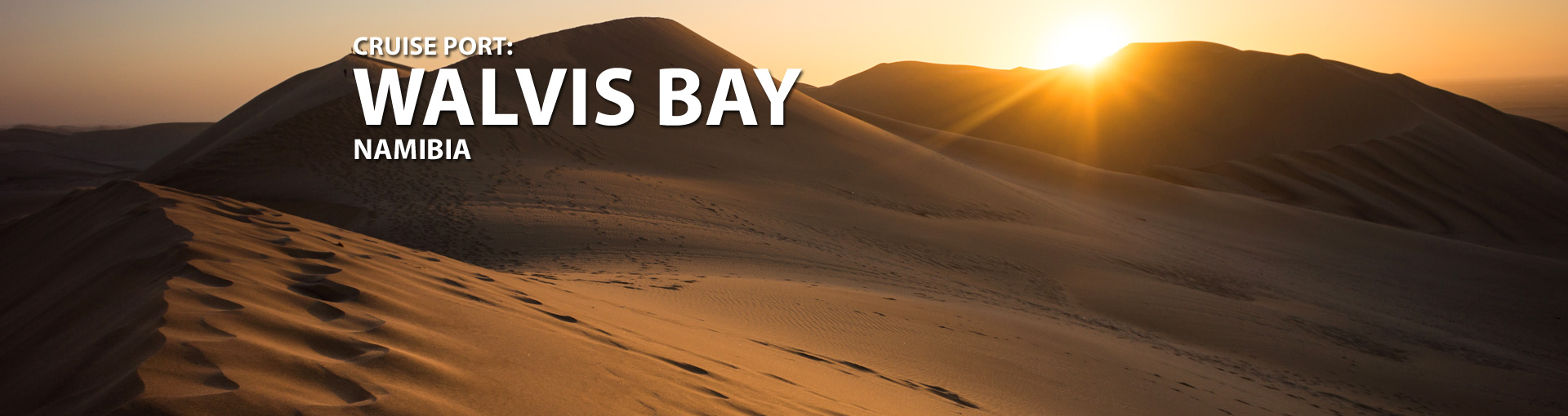 Cruises to Walvis Bay, Namibia