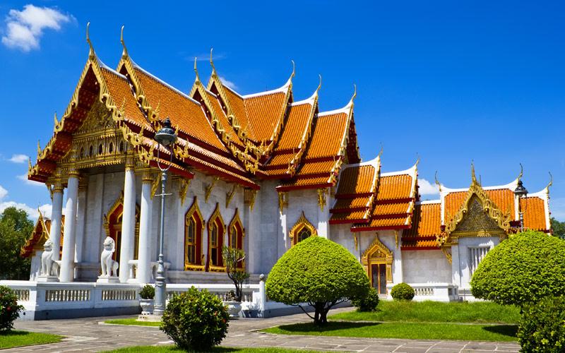 Wat Benchamabophit Marble Temple Bangkok, Thailand