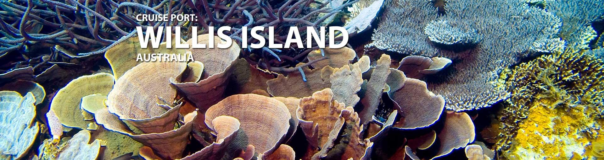Cruises to Willis Island