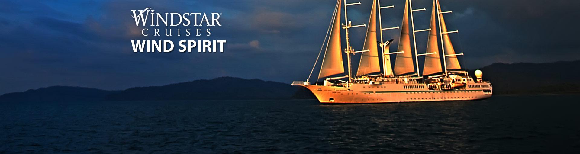 Windstar Cruises Wind Spirit Cruise Ship