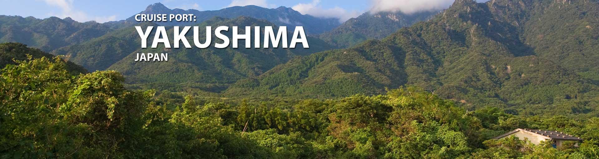 Cruises to Yakushima, Japan