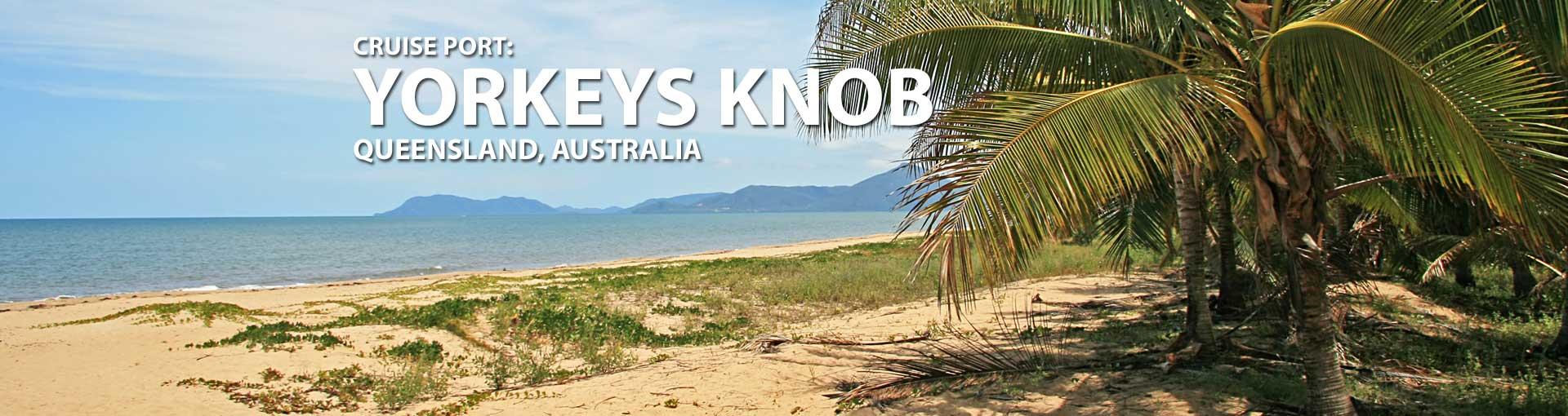 Cruises to Yorkeys Knob