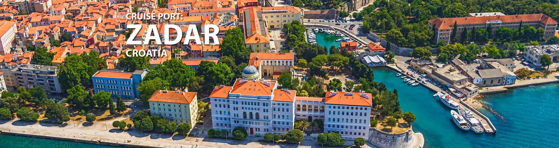 Cruises to Zadar, Croatia
