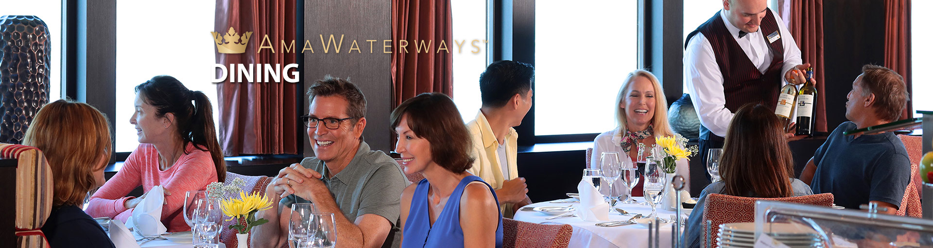 AmaWaterways Dining
