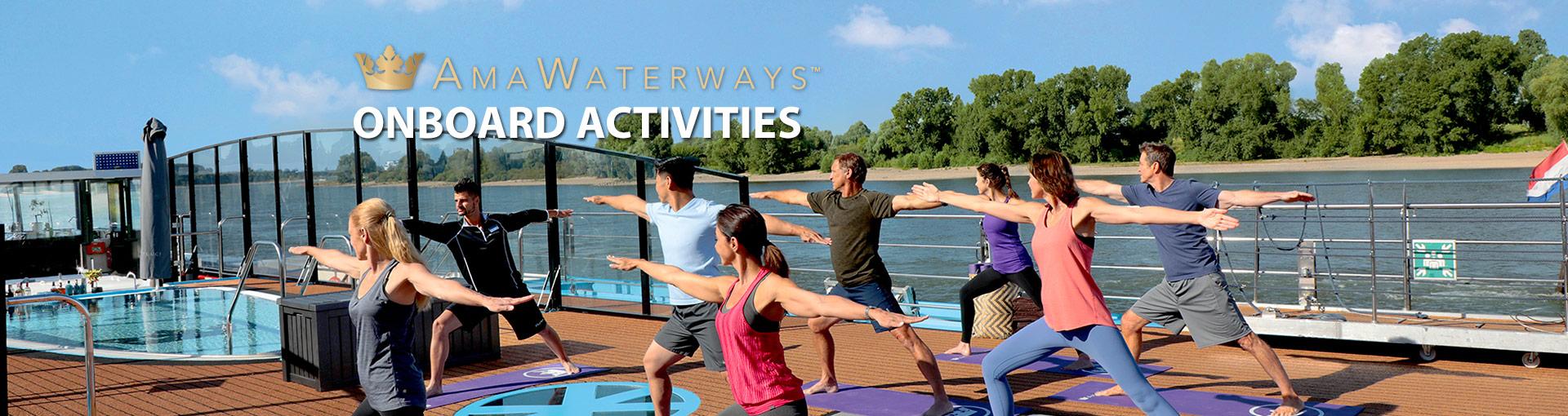 AmaWaterways Onboard Activities