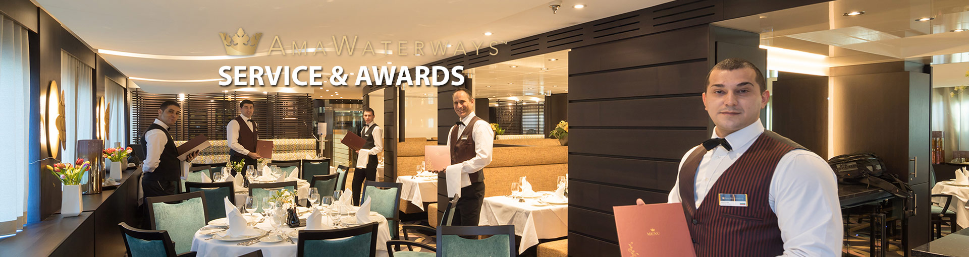 AmaWaterways Service and Awards