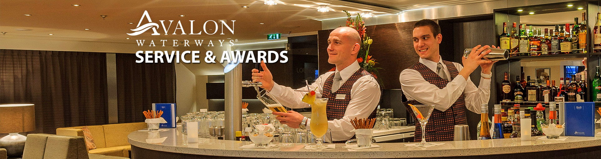 Avalon Waterways Service & Awards