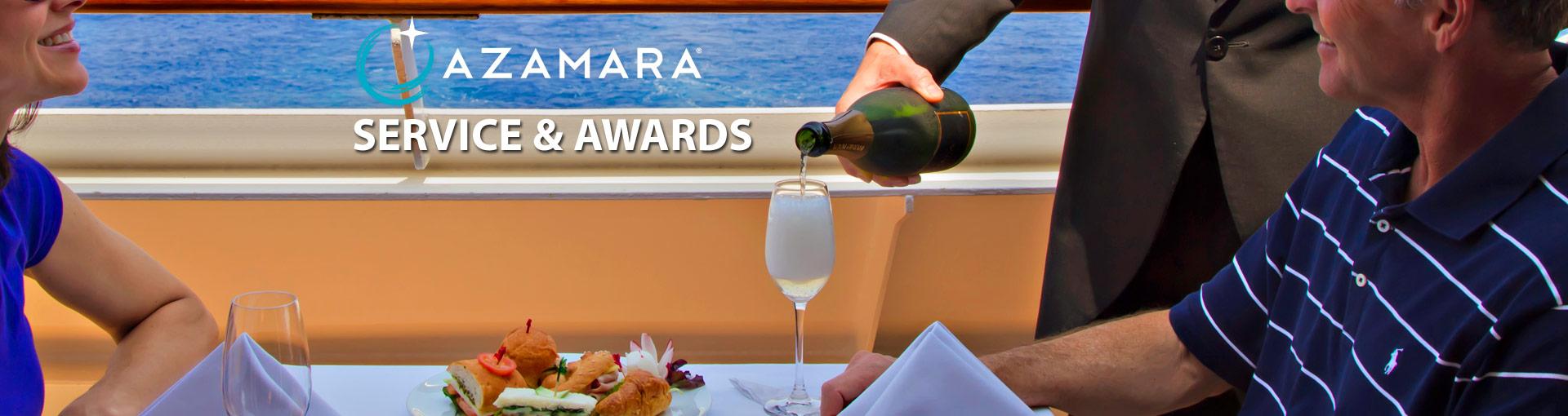 Azamara Club Cruises Service & Awards
