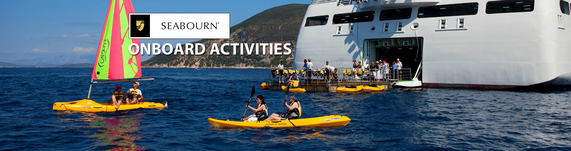 Seabourn Cruise Line Onboard Activities