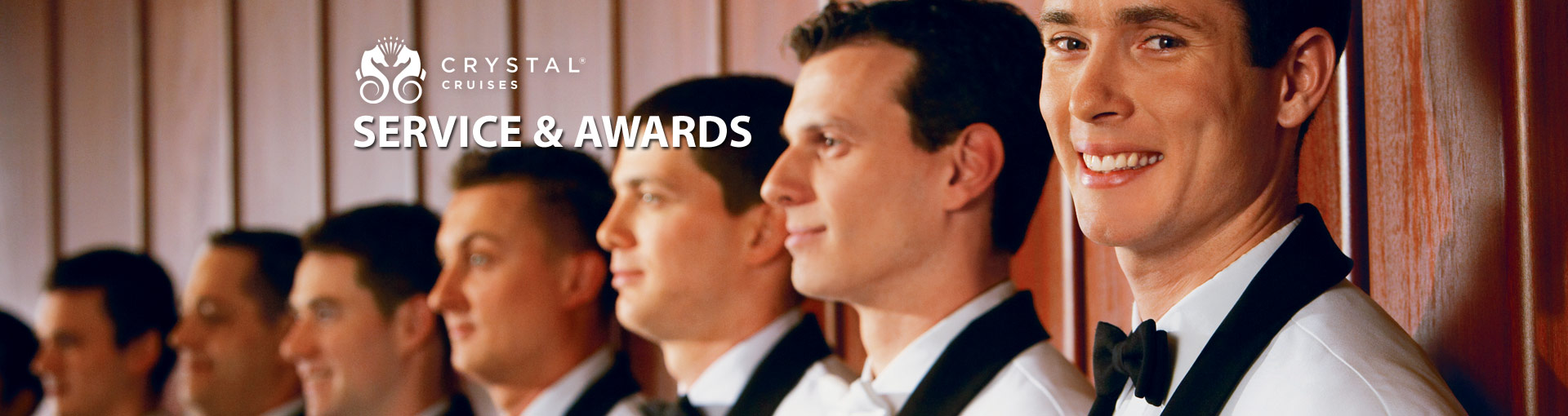 Crystal Cruises Service & Awards