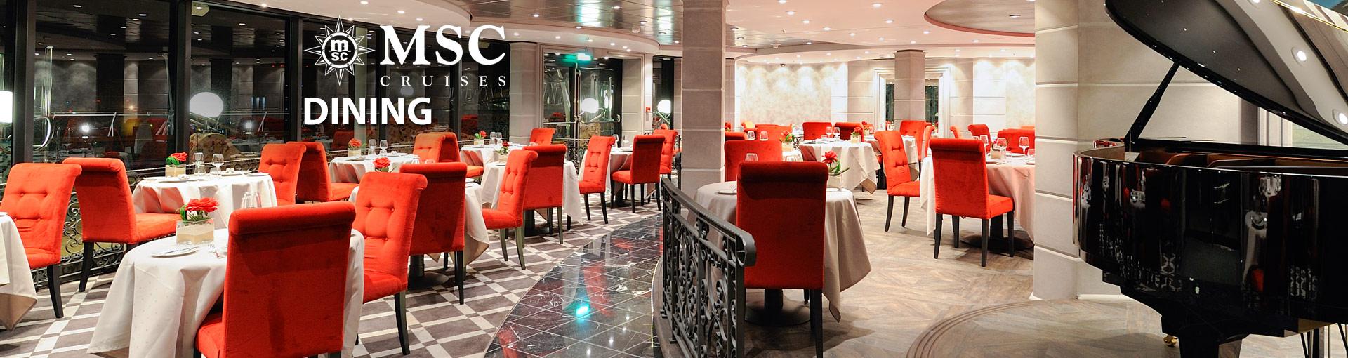 MSC Cruises Dining