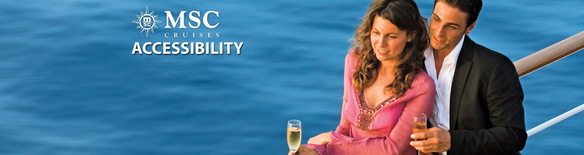MSC Cruises Accessibility