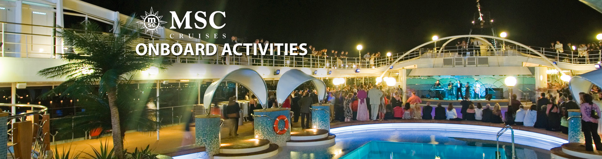 MSC Cruises Onboard Activities