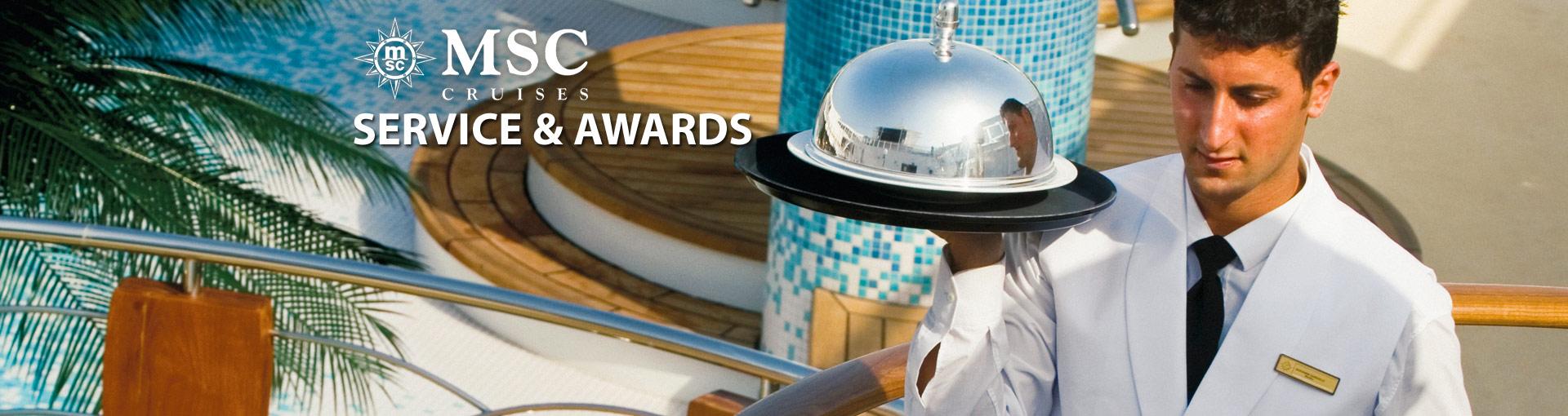 MSC Cruises Services & Awards