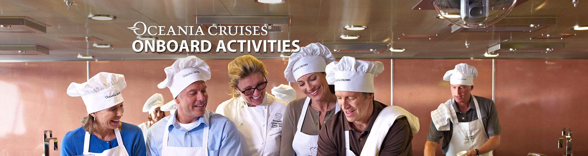 Oceania Cruises Onboard Activities
