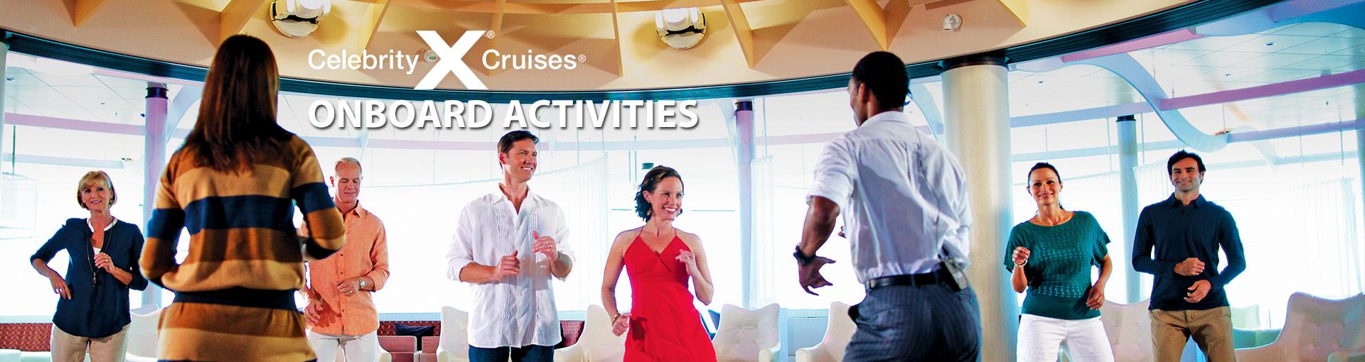 Celebrity Cruises Onboard Activities