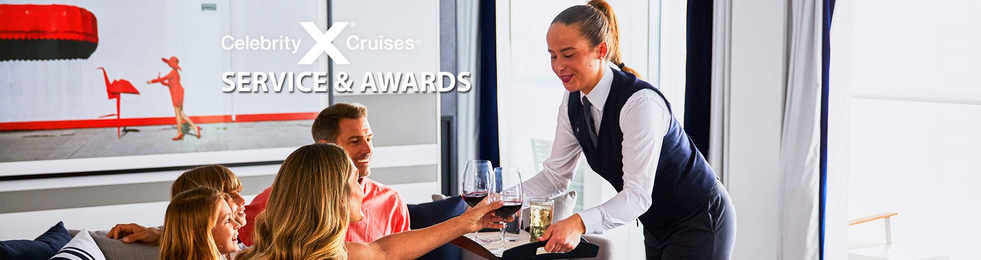 Celebrity Cruises Service & Awards
