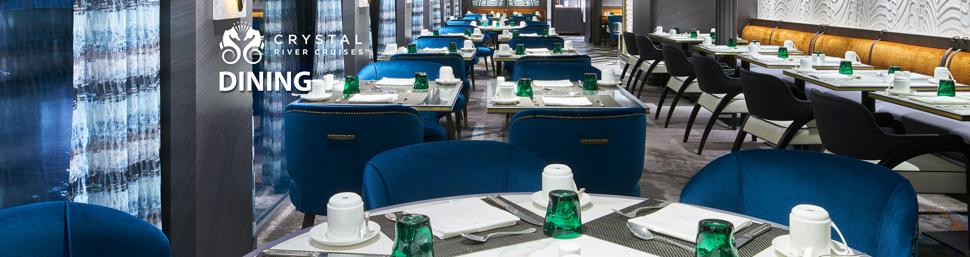 Crystal River Cruises Dining