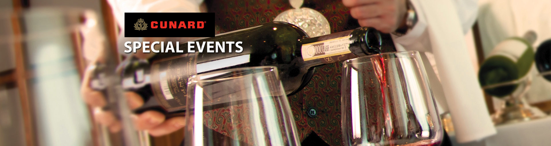 Cunard Line Special Events