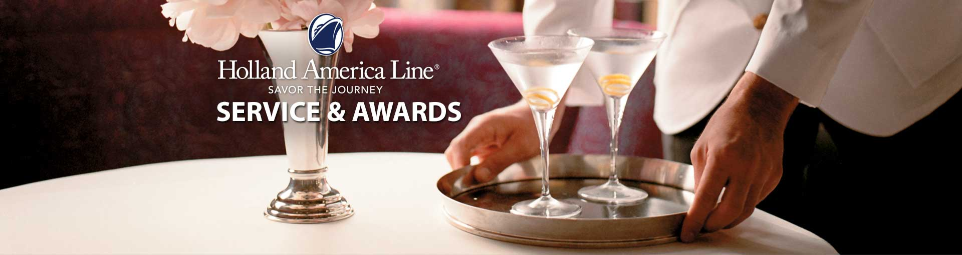 Holland America Line Service & Awards