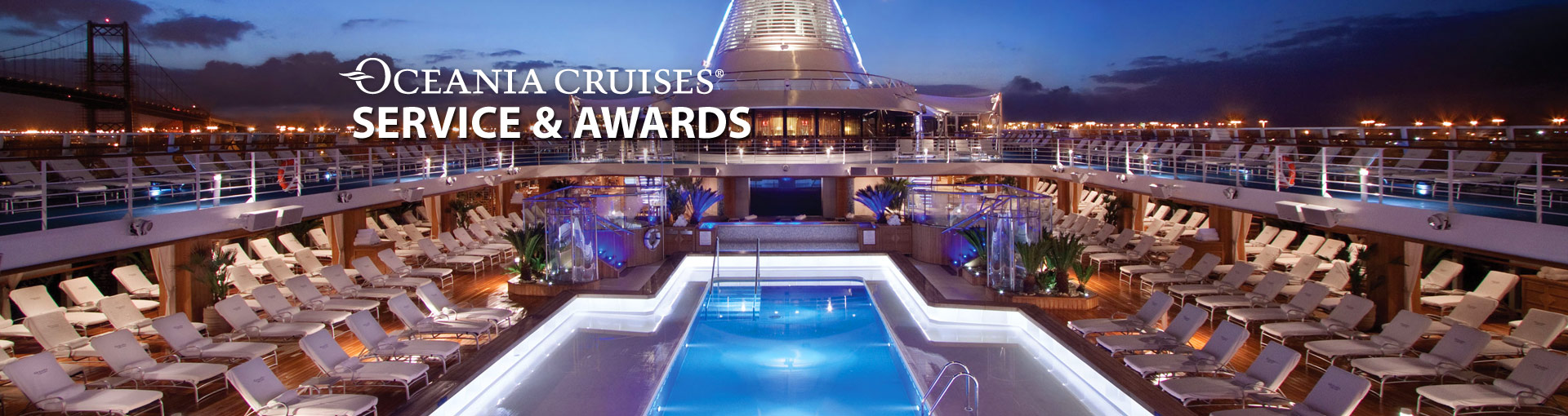 Oceania Cruises Service & Awards