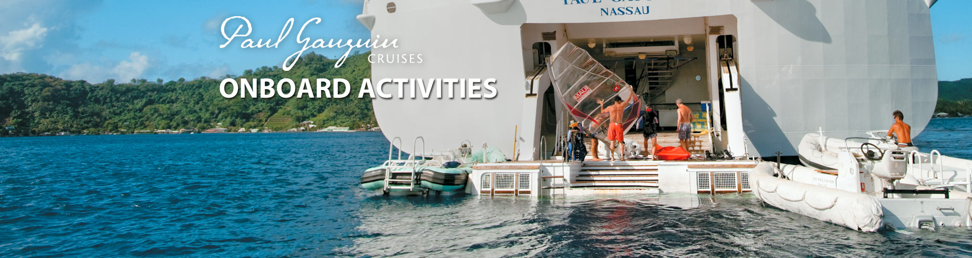 Paul Gauguin Cruises Onboard Activities