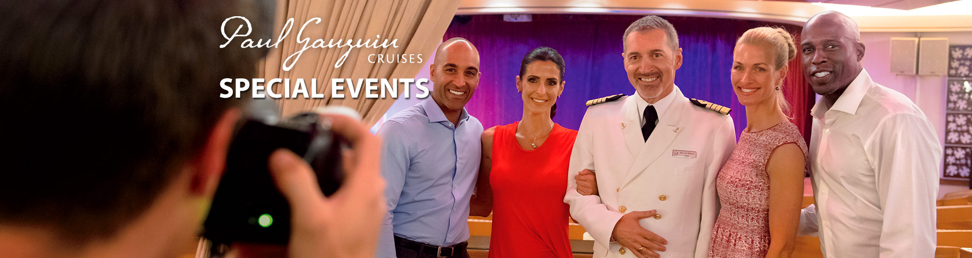Paul Gauguin Cruises Special Events