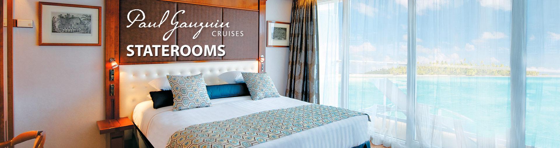Paul Gauguin Cruises Staterooms