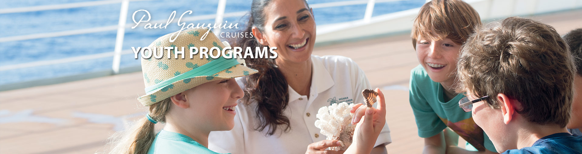 Paul Gauguin Cruises Youth Programs