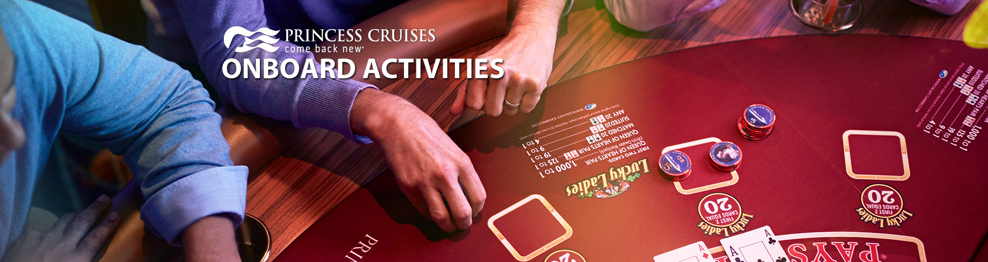 Princess Cruises Onboard Activities