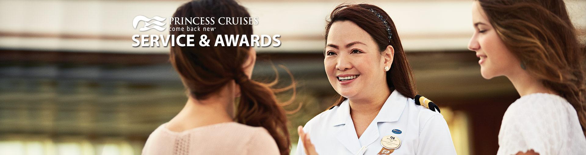 Princess Cruises Service & Awards
