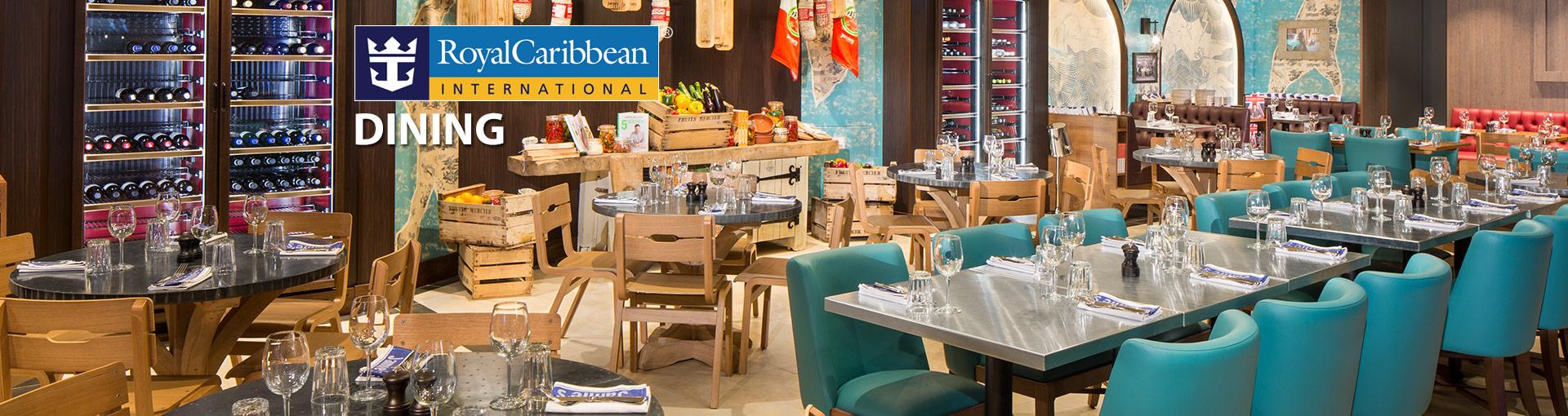 Royal Caribbean Dinning