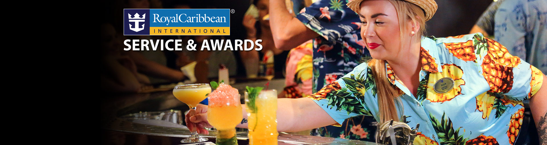 Royal Caribbean Service & Awards