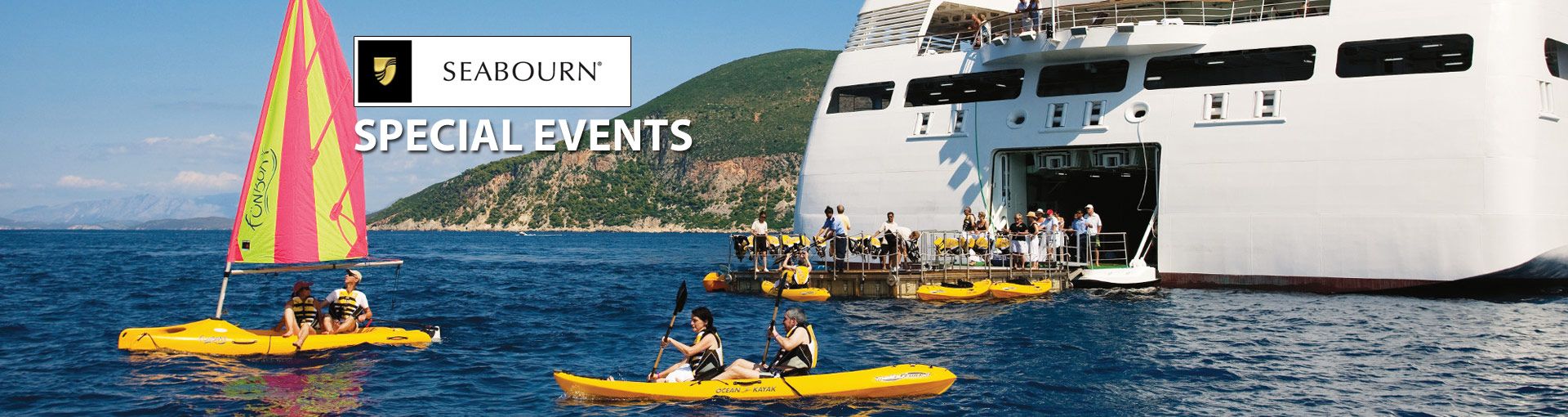 Seabourn Cruise Line Special Events