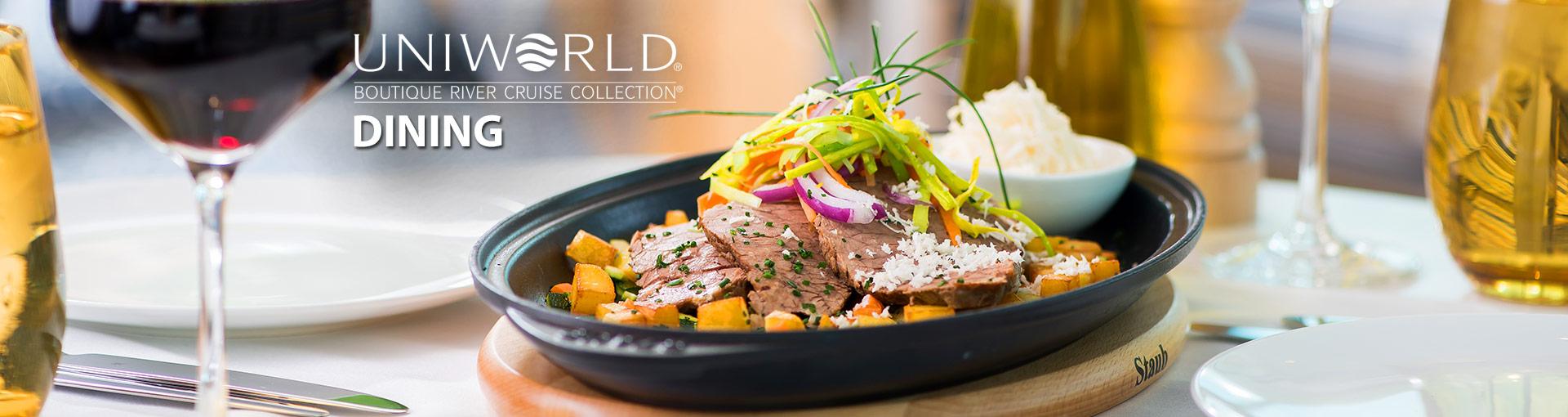 Uniworld River Cruises Dining
