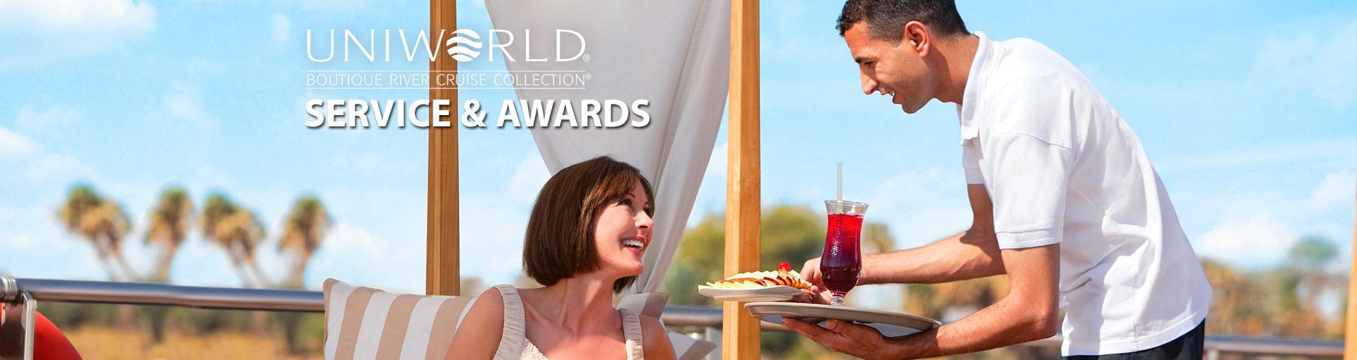 Uniworld River Cruises Service & Awards