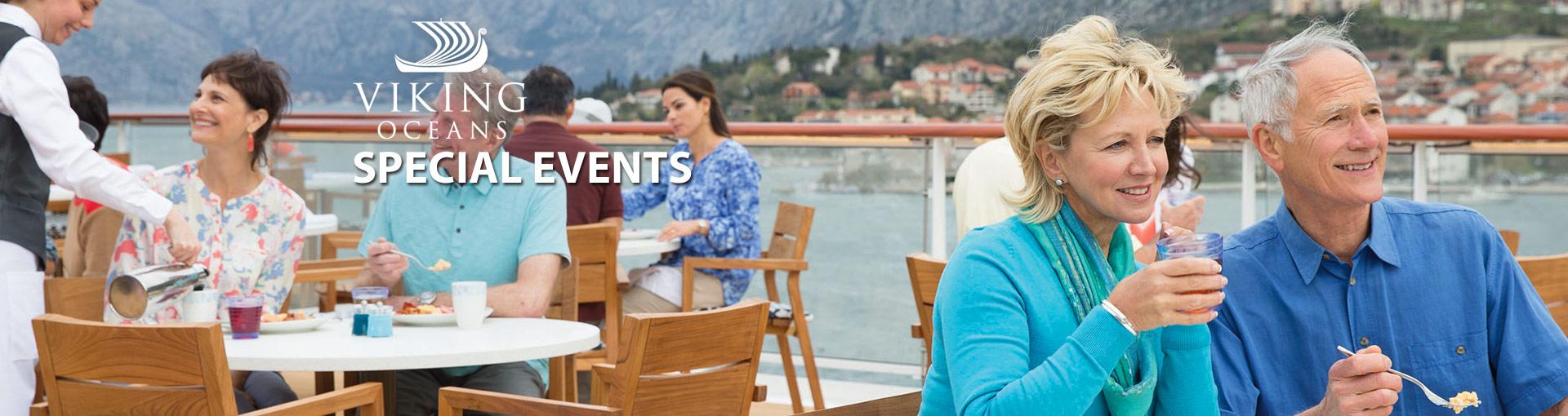 Viking Ocean Cruises Special Events
