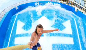 FlowRider Aboard Odyssey of the Seas