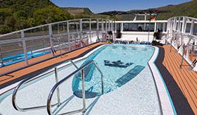 Sun Deck Whirlpool aboard AmaCello
