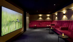 Movie Theater aboard AmaMagna